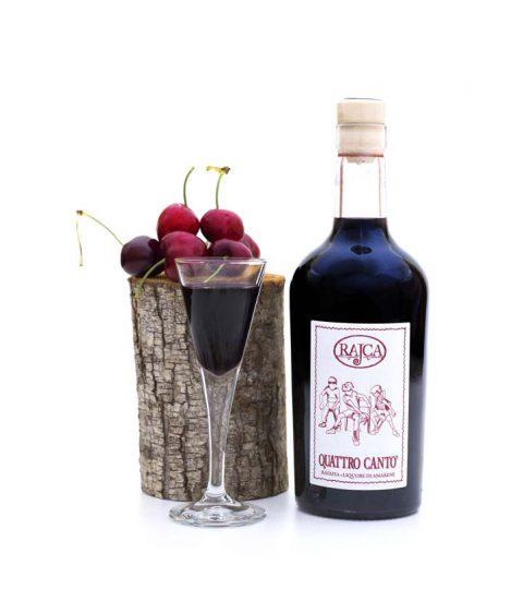 Quattro Canto' – Ratafia – Liquore Di Amarene